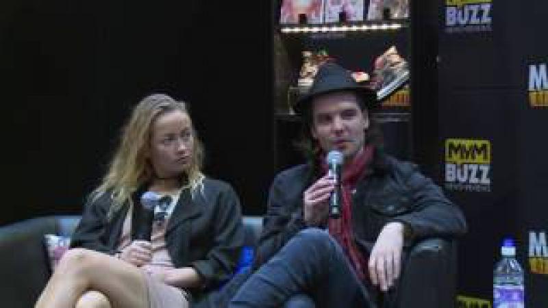 Andrew Lee Potts Wireless INTERVIEW @ MCM London Comic Con