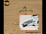 Amazing Mars Anomalies. Dejavu From Curiosity Sol 735. Alien Device, Written Symbols