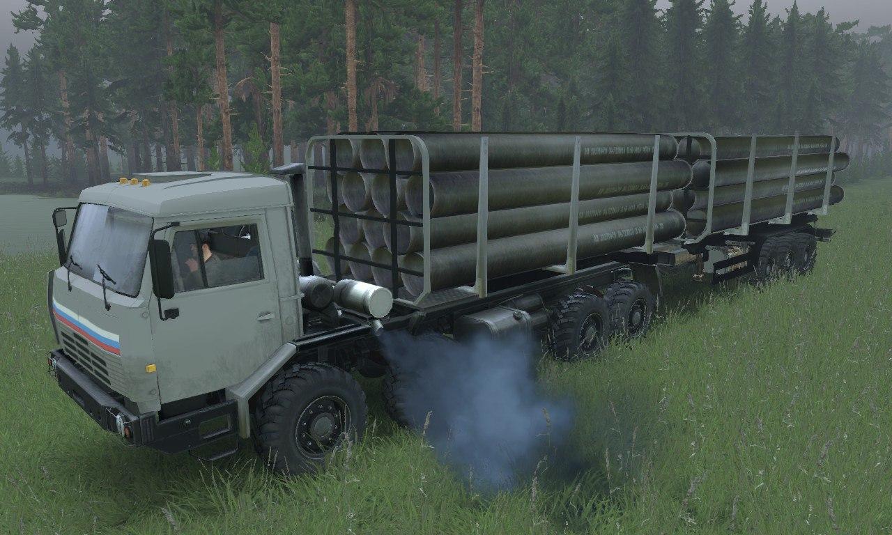 КамАЗ «Сибирь» для 03.03.16 для Spintires - Скриншот 1