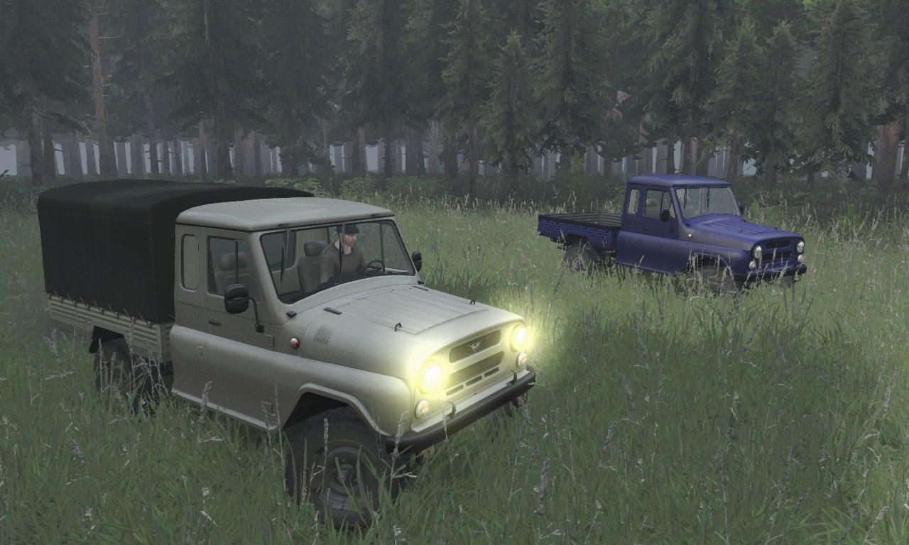 Уаз-2315 для 03.03.16 для Spintires - Скриншот 3