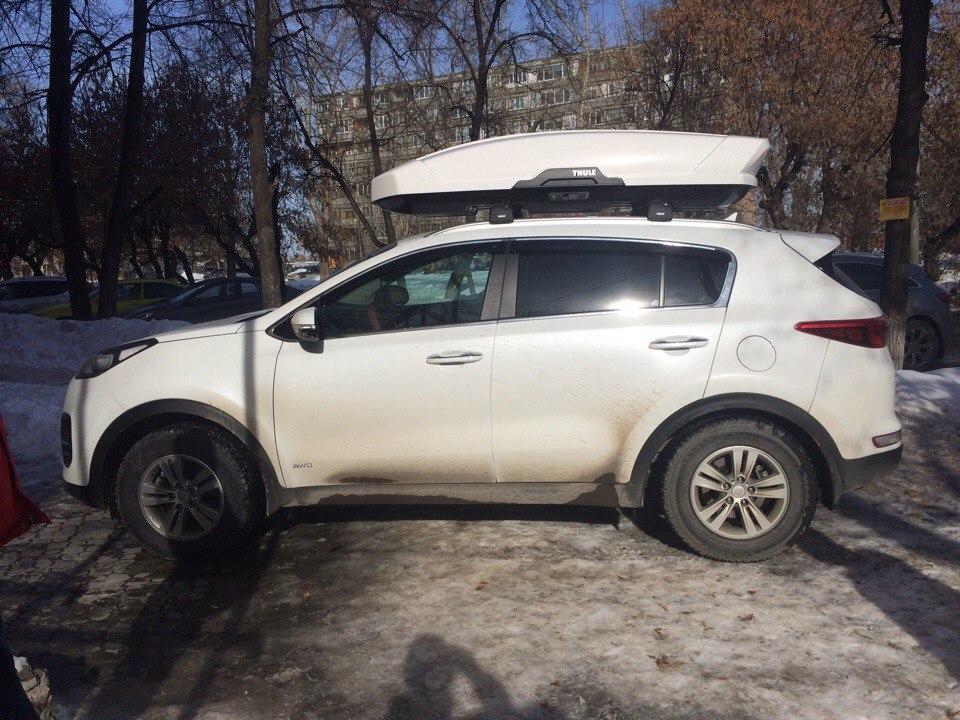 Багажники на крышу Kia Sportage Тюмень