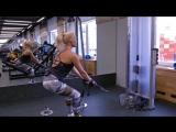 Тренировка мышц спины. Евгения Смородинова