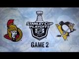 NHL 16-17  Play-off  East  Round 3  Ottawa Senators - Pittsburgh Penguins  Game 2