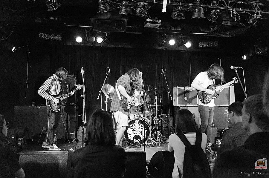Концерт Gang of Four в Москве группа Спасибо