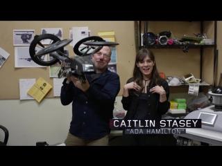 Технический отчет с Кэйтлин Стейси: Дроны