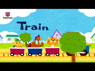 T - Train - ABC Alphabet Songs - Phonics - PINKFONG Songs for Children