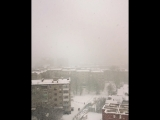 Какая же красота на улице❄️Сказочная такая  погода??