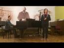 Salve Regina, 2-4 parts, Pergolesi, perform. Mikhail Karabulatov (14 years old)