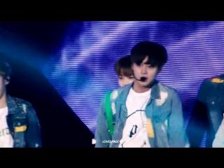 [FANCAM] 170807 | Дебютный шоукон Wanna One |  Energetic | Фокус на Джихуне