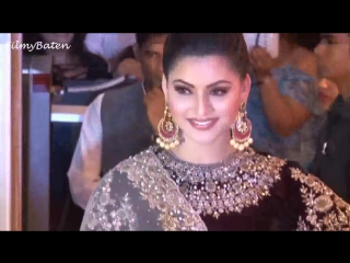 Urvashi Rautela At Neil Nitin Mukesh Rukmini Sahays Grand Wedding Reception