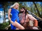 Порно пародия на «Игра престолов» трейлер Brazzers