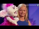 Девочка-чревовещатель покорила шоу талантов