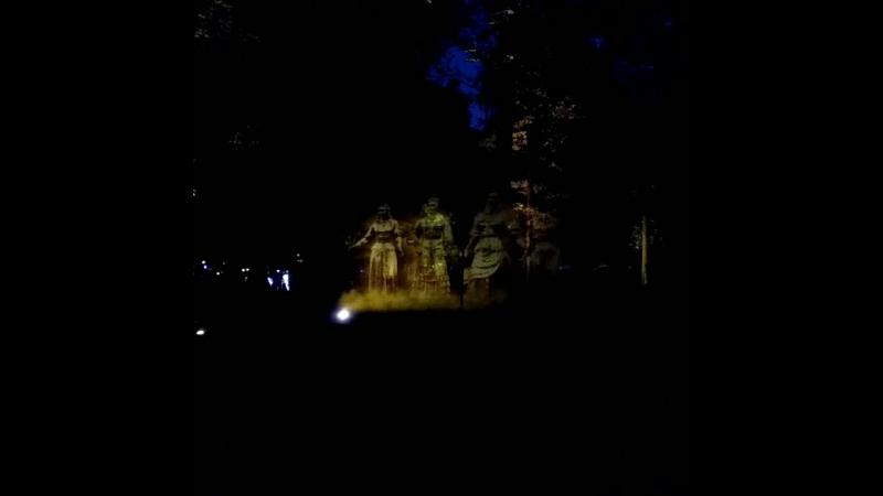 волшебный лес в Останкинском парке