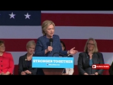 FULL EVENT_ Hillary Clinton Rally in Cedar Rapids, Iowa 10_28_2016 FBI Reopens email investigation