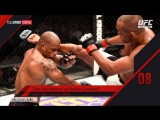 Top 10 Fight of 2016 No-8 Dan Henderson VS Hector Lombard