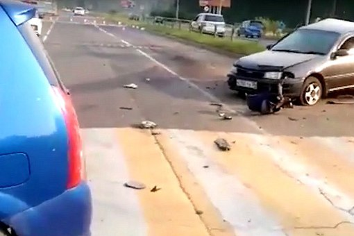 29 июля пьяный водитель «Мазды» столкнулся с «Тойотой»