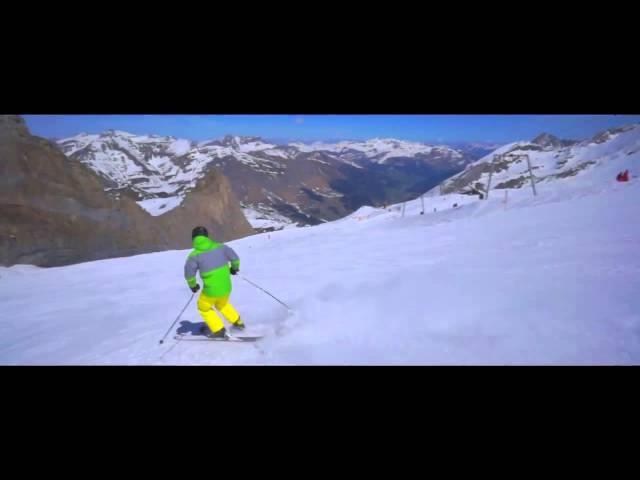 Extreme funcarving Hintertux K2 Kung Fujas