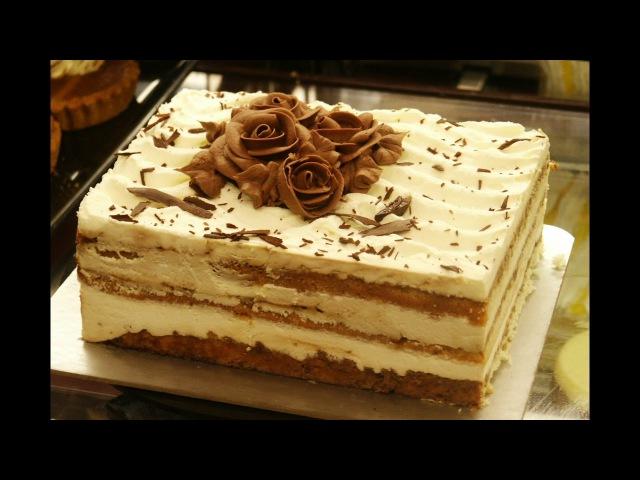 Как сделать крем Тоффи для торта или пирожных