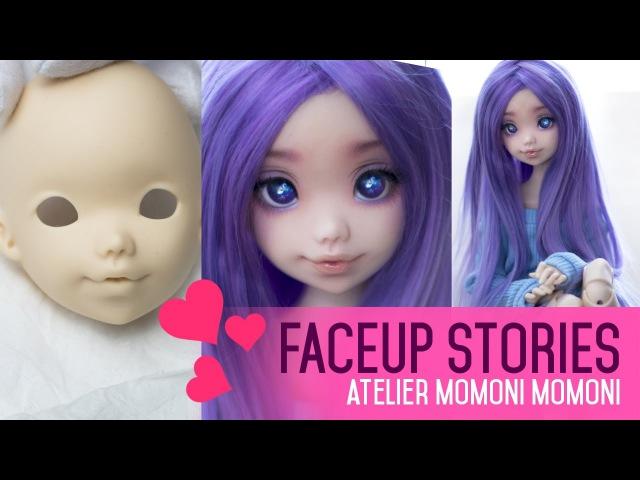 Repainting Dolls - ATM Momoni - Faceup Stories ep.43
