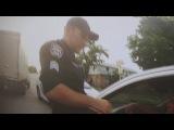 Появилось видео задержания пьяного экс-Гаишника с Кропивницкого