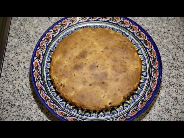Заварной картофельный пирог с мясным фаршем