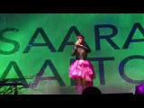 Little Clip of Saara Aalto Talking to the Audience at Buttermarket Shrewsbury 14th January 2017