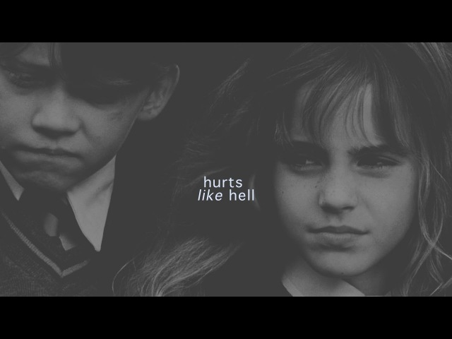 Ron hermione | hurts like hell