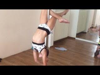 Prázdniny Circus! Dance Studio 2016 - POLE DANCE children's training