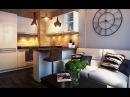 Маленькая кухня, совмещенная с гостиной варианты дизайна