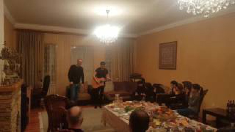 Андрей Ковалев в гостях у отца Героя России Магомеда Нурбагандов а
