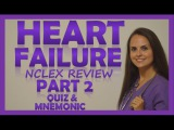 Heart Failure (CHF) Treatment Management  Nursing Interventions &amp Medications Pharmacology Part 2