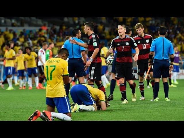 Бразилия vs Германия 1 7 Моменты FIFA Чемпионат Мира Полуфинал 2014 HD 720p