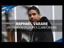 Raphaël Varane, un Champion d'Europe à Clairefontaine