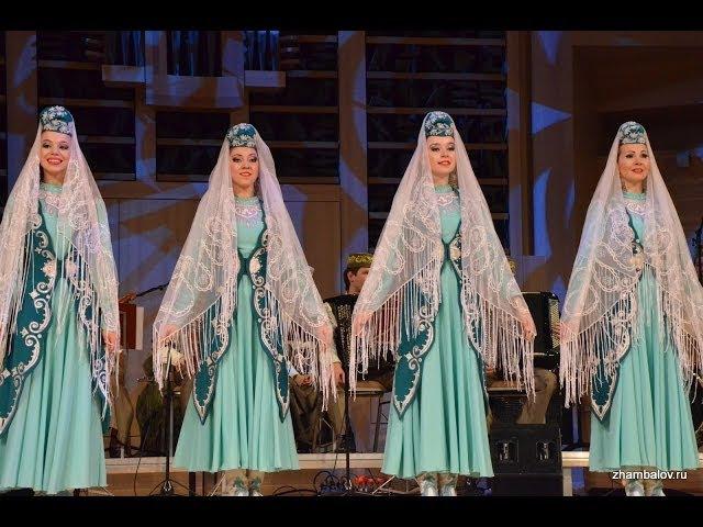 Танец казанских девушек - Татарстан Государственный ансамбль в Москве