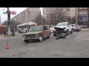 В Мариуполе два авто не поделили перекресток
