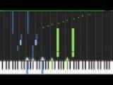 I See Fire - Ed Sheeran - The Hobbit Piano Tutorial (Synthesia)