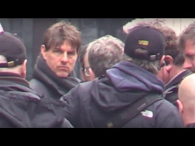 Tournage MI6 avec Tom Cruise à la Bourse de Paris