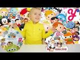 Герои Мультиков Дисней из США Disney Tsum Tsum Series 2 и Tsum Tsum Bubble Fever