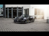 Уникальный тюнинг Techart Porshce 911 Turbo Cabriolet