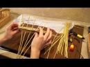 Русская ива Урок 10 Плетение валика на круглом основании