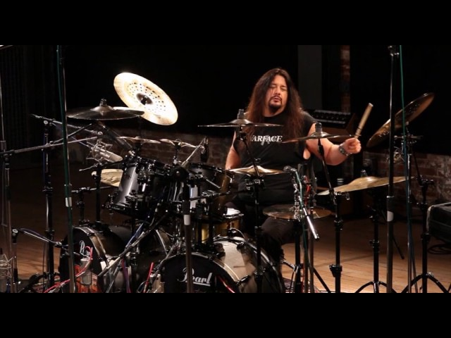 Gene Hoglan Plays Strapping Young Lad Track Skeksis From Genes Brand New DVD