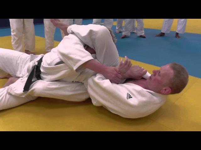 Judo Juji gatame part 1 Steve Gawthorpe Series 2