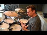 Tour of Thomas Lang's drum kit 2015 PART 1