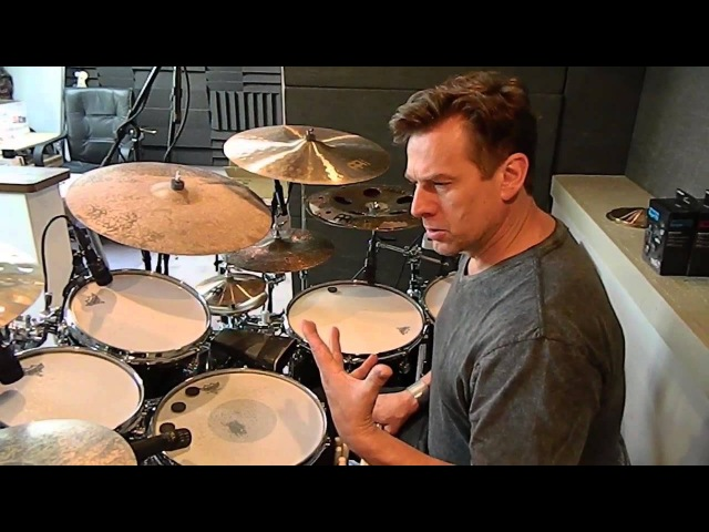 Tour of Thomas Langs drum kit 2015 PART 1