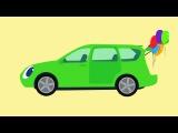 ? БИБИКА -  Все серии подряд - Машинки, Самолетики, Животные, Овощи, Фрукты - Разви...