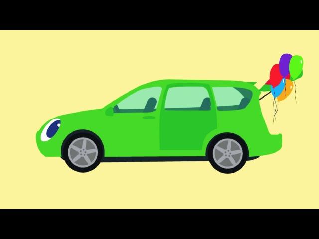 🚗 БИБИКА - Все серии подряд - Машинки, Самолетики, Животные, Овощи, Фрукты - Развивающий мультик