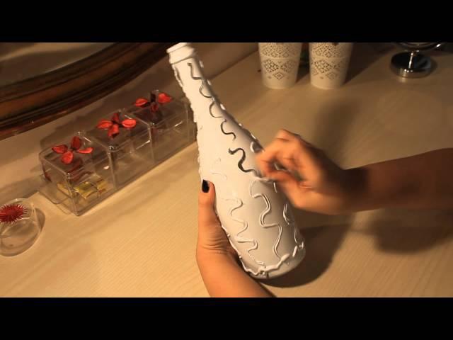 DIY | Bottiglia decorata