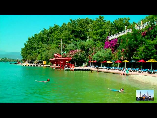Очень красивые пляжи при отеле Letoonia 5 ! Турция Фетхие