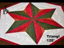 Patchwork Triangl 120° Star