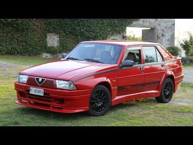 Alfa 75 Turbo Evoluzione - Драйверские опыты Давида Чирони